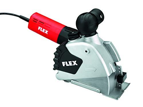 Flex Mauerschlitzer MS 1706 FR Set (schiebender, ziehender Schnitt, Schnitttiefe 0-35 mm, Nutbreite 10-30 mm, M 14, 1400 Watt) 329673