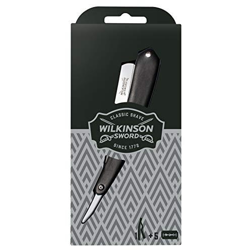 Wilkinson Sword Vintage Rasiermesser mit 5 Classic Klingen, 59 g