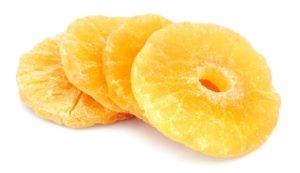 gedörrte Ananas