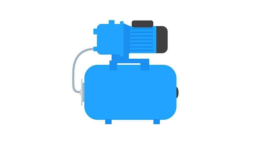 Hauswasserpumpe