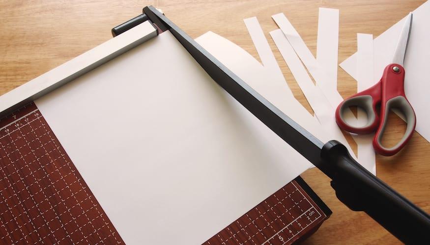 Papierschneider